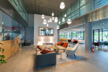 Eurocenter Lobby nach Umgestaltung
