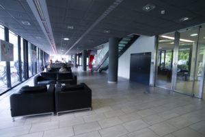 Die Eurocenter-Lobby vor der Umgestaltung