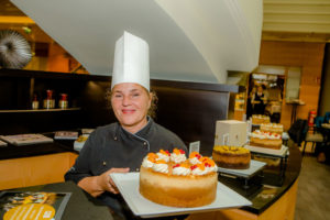 Vienne Marriott Chef-Pattissière Annemarie Bortoli