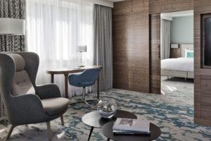 Parksuite im Vienna Marriott Hotel nach Renovierung