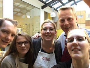 Das S IMMO Kochteam