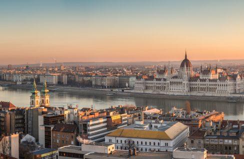 Donaufront von Budapest