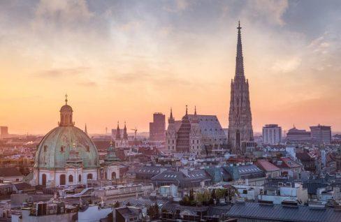 Panoramaaufnahme Wien