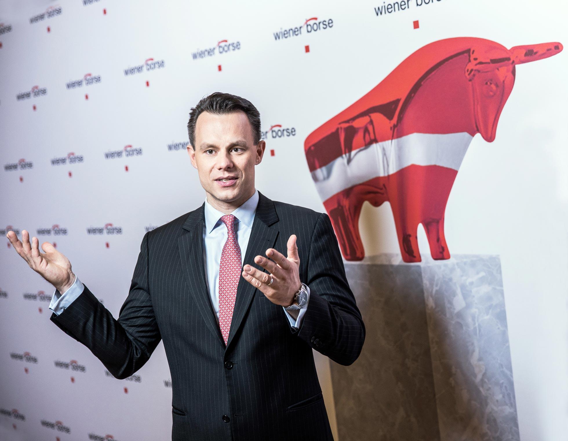 Christoph Boschan, Vorstandsvorsitzender der Wiener Börse