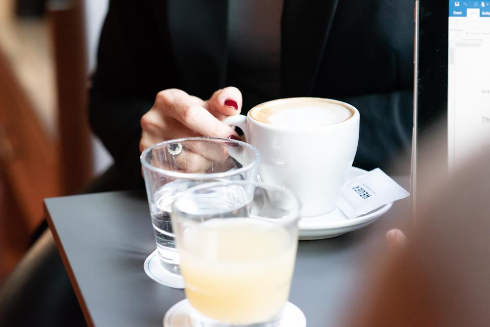 Kaffeetasse & Gläser